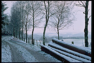 Das Sauerland im Winter – Sauerland in Winter